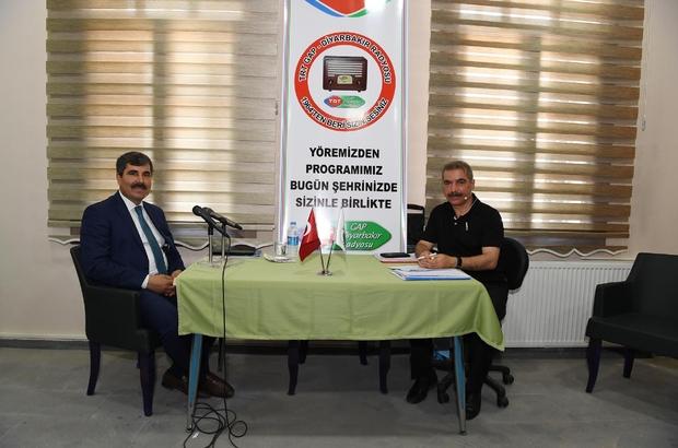 Başkan Asya, TRT Gap Radyosuna konuk oldu