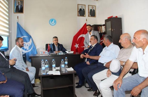 Milletvekili Aydın, Oltu'ya geçmiş olsun ziyaretinde bulundu