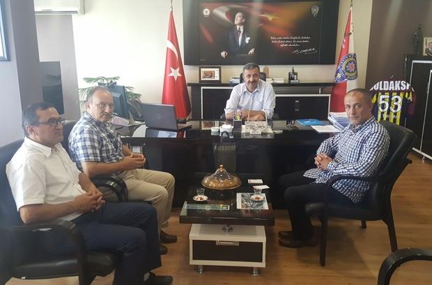 Demir ve ekibinden Turanlı'ya ziyaret