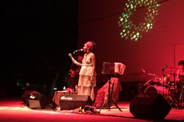 İyeoka, Marmaris'te konser verdi