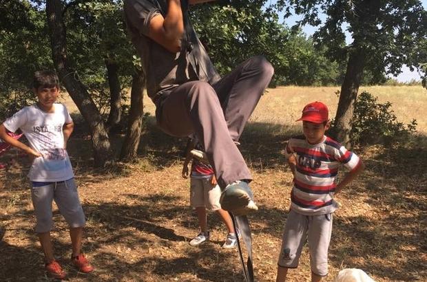 Kur'an-ı Kerim kursu öğrencilerine piknik motivasyonu