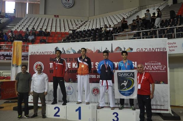Darıcalı sporcular Gaziantep'ten 5 madalya ile döndü