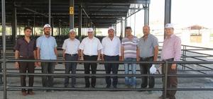 İncesu'da kurban pazarı inşaatında sona gelindi
