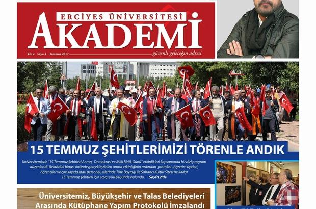 Erciyes Üniversitesi AKADEMİ'nin 4. sayısı çıktı