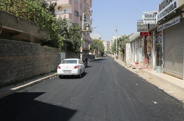 Nurullah Caddesi'ndeki asfaltlama çalışmaları tamamlandı