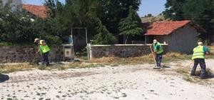 İnönü'de bayram temizliği devam ediyor