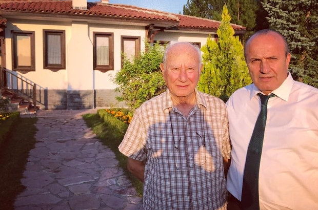Başkan Arslan'dan Atilla Paşa'yı ziyaret