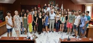Mülteciler ve Sanat Topluluğundan Odunpazarı Belediyesine teşekkür ziyareti