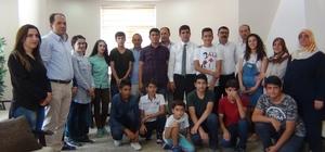 TEOG'da başarı gösteren öğrenciler bir araya geldi