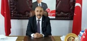MHP Ağrı İl Başkanı Aktaş'tan açıklama