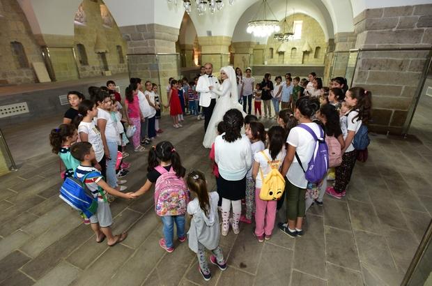 Battalgazi'deki kültürel varlıklar yoğun ilgi görüyor