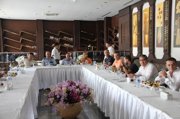 Serik-Boğazkent'te Turizm Güvenlik ve İstişare toplantısı