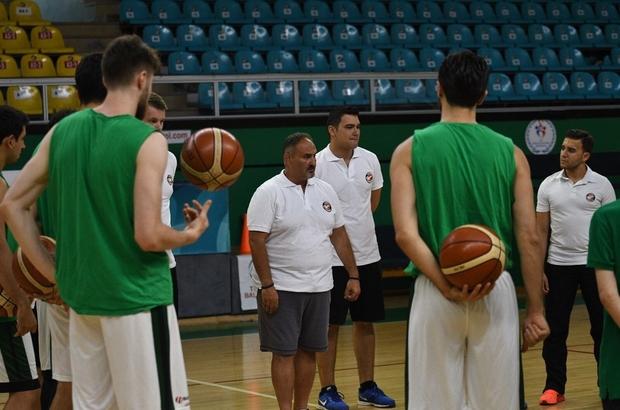 Büyükşehir Basket ilk antrenmanını gerçekleştirdi