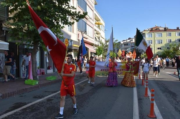 Hayrabolu'da 27. Ayçiçeği Festivali törenlerle başladı