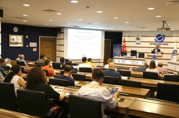 KAYSO üyelerine ar-ge ve tasarım merkezlerinin avantajları anlatıldı