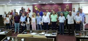 Nazilli Ticaret Odası üyeleri TDK yetkilileriyle buluştu