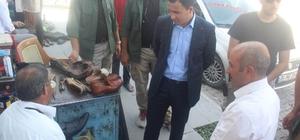 Başkan Vekili Uzan'dan esnaf ziyareti