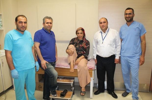 Adıyaman'da ilk kez Posterior Ayak Bileği Artroskopisi Ameliyatı yapıldı