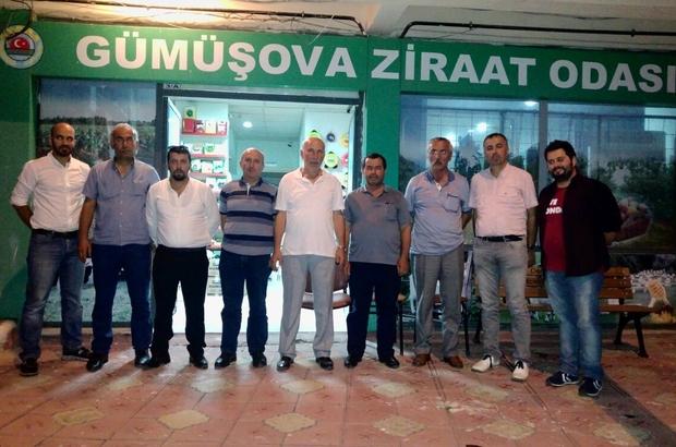 Düzce Üniversitesi'nden Gümüşova Ziraat Odası'nı ziyaret etti