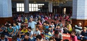 İl Müftülüğü'nce 'Cami-Çocuk Buluşması' etkinliği gerçekleştirildi.