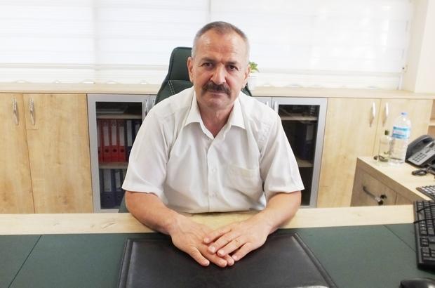 Burhaniye'de Malmüdürü Mustafa Ak görevine başladı