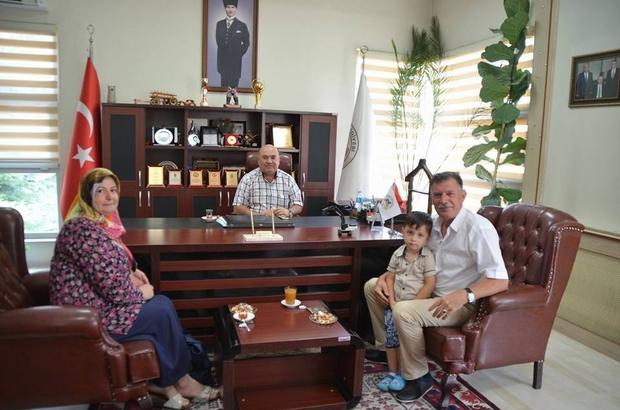 Başkan Duymuş, İvrindi Belediye Başkanı Baydar ile bir araya geldi