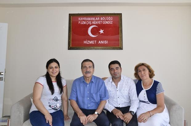 Başkan Ataç'tan gazi Gündüz'e ziyaret