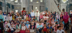 """Iğdır'da """"Cami ve Çocuk Buluşması"""" programı"""