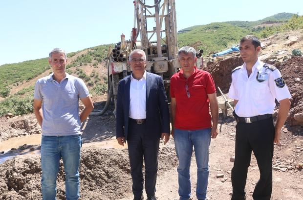 """Başkan Barakazi;"""" 2017 yılı için 6 adet sondaj kuyusu çalışması planladık"""""""