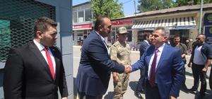 Vali Elban Tutak ilçesini ziyaret etti