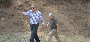 Başkan Karaçoban mahallelerin sıkıntılarını yerinde dinliyor