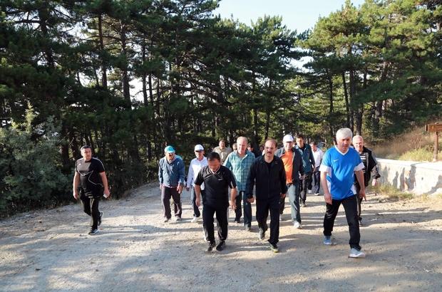 Yozgat'ta kamu çalışanları sağlıklı yaşam için yürüdü