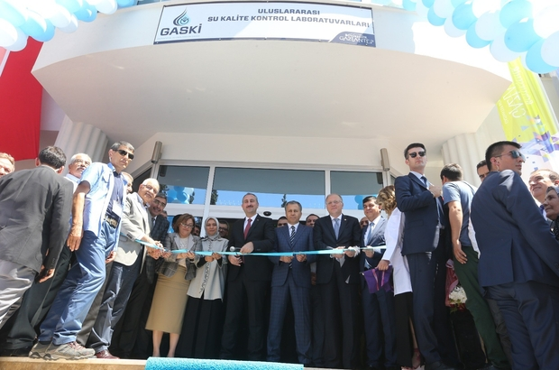 Türkiye'nin en donanımlı içme suyu kalite kontrol laboratuvarı hizmete girdi