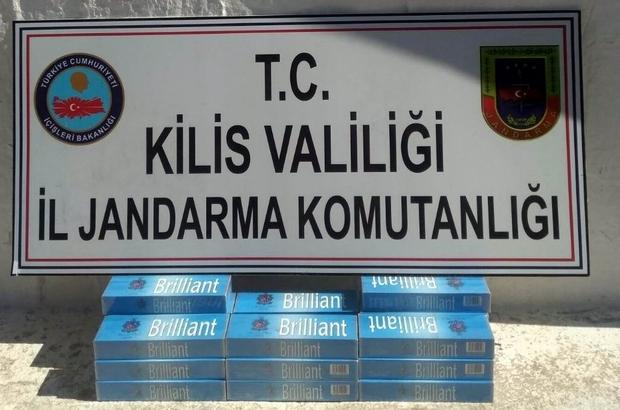 200 paket kaçak sigara ele geçirildi