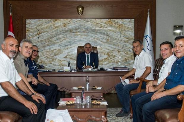 Dernek yöneticilerinden Vali Zorluoğlu'na ziyaret