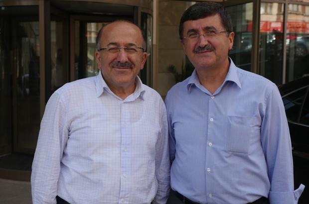 Trabzon eski Valisi Öz'den Başkan Gümrükçüoğlu'na ziyaret