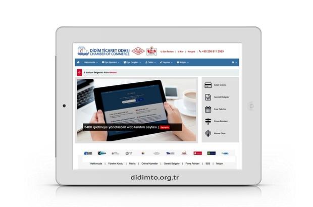 DTO'nun sitesi yenilendi