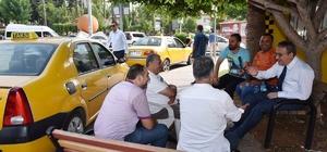 Vali Su'dan taksicilere sürpriz ziyaret