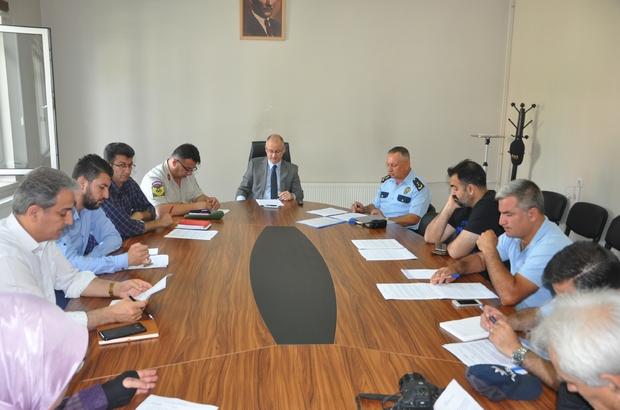 İlçe Spor Güvenlik Kurulu toplantısı yapıldı