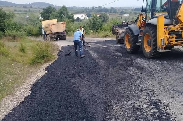 Körfez'de asfalt seferberliği sürüyor