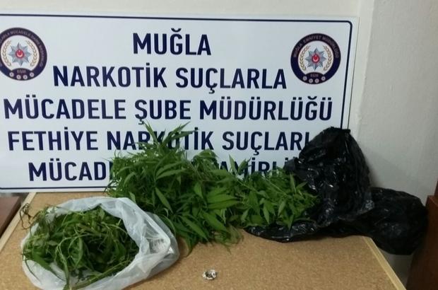 Fethiye'de uyuşturucu operasyonu: 1 tutuklama