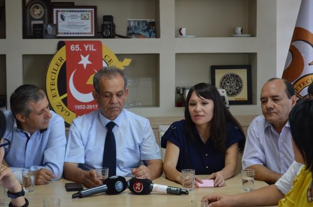 Kazak gazeteci ve televizyoncular Eskişehir'de