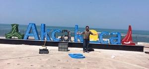 Model kent Akçakoca'da değişim devam ediyor