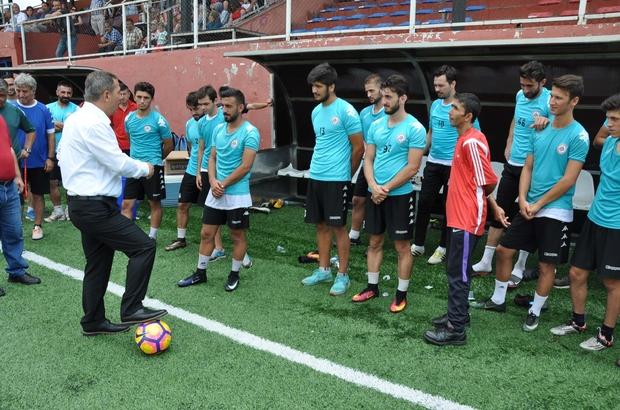 Başkan Uysal BAL liginde şampiyonluk istedi