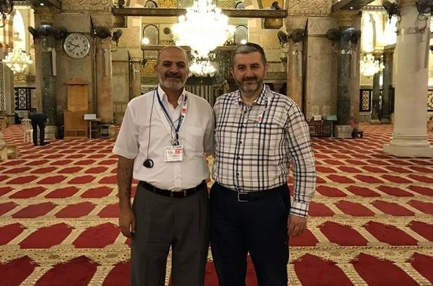 MÜSİAD Şube Başkanı Kalan Mescid'i Aksa için Kudüs'e gitti