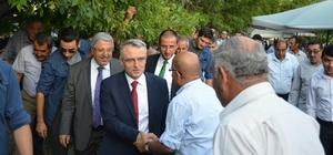 Maliye Bakanı Naci Ağbal'dan Adilcevaz'a ziyaret