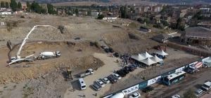 Büyükşehir Kavak Konutları'nın temelini attı