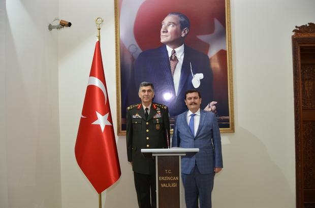 Kara Kuvvetleri Komutanı Orgeneral Çolak'tan Vali Arslantaş'a veda ziyareti