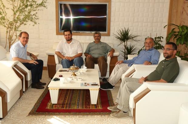 Rektör Coşkun'a yurtdışından ziyaret
