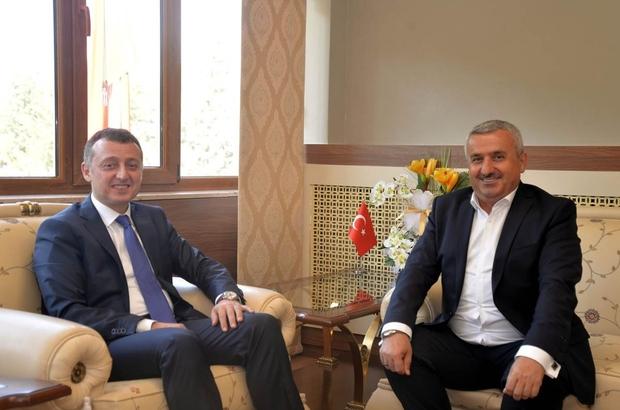 Körfez Belediye Başkanı Baran'dan Vali Büyükakın'a ziyaret
